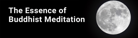 Essence of Buddhist Meditation